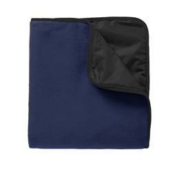 STM Port Authority Fleece and Poly Travel Blanket
